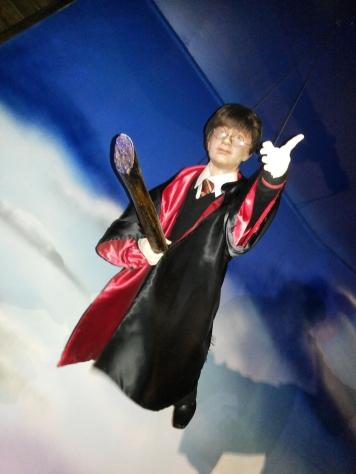 Harry Potter no museu de cera